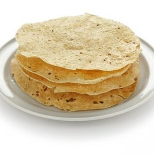Papadum Rosted