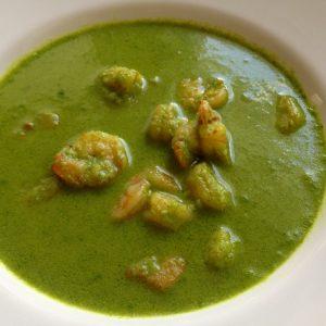 Shrimp Green Masala