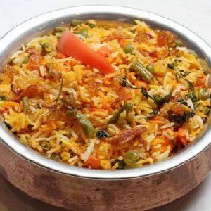 Vegetable Biryan